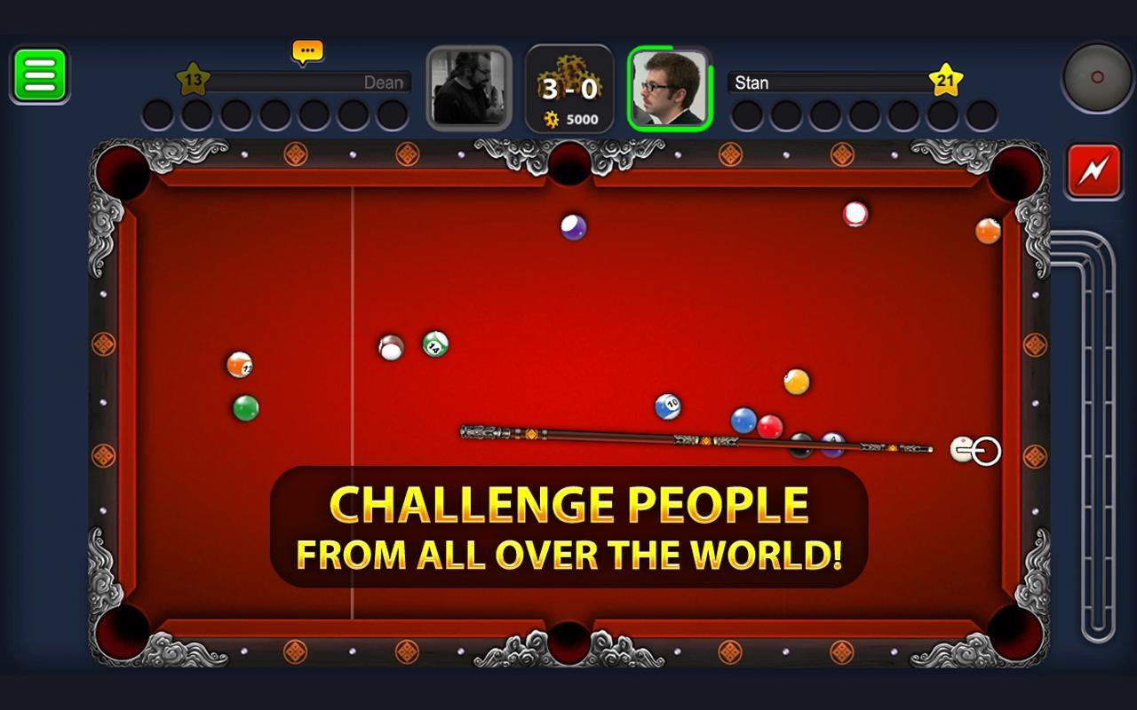 """دانلود Eight Ball Pool 5.2.3 – بازی فوق العاده بیلیارد آنلاین """"8 توپ بیلیارد"""" اندروید!"""