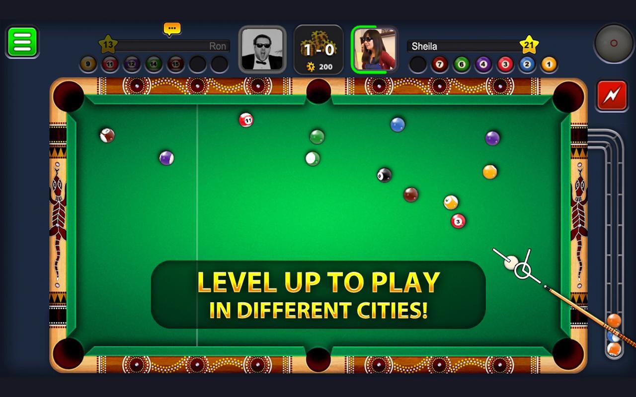 """دانلود Eight Ball Pool 5.3.1 – بازی فوق العاده بیلیارد آنلاین """"8 توپ بیلیارد"""" اندروید!"""