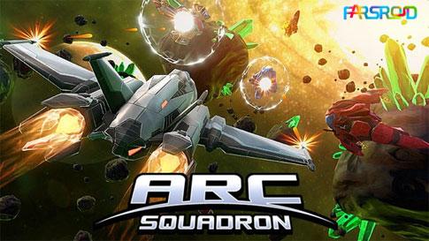 دانلود ARC Squadron: Redux - بازی تیراندازان فضایی اندروید + دیتا