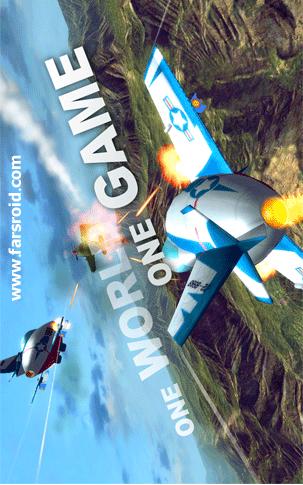 دانلود Ace Wings: Online 1.7.1 Mod – بازی نبرد هوایی اندروید + دیتا