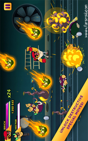 Action Mega Fight! Android بازی اندروید