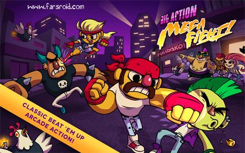 دانلود Action Mega Fight - بازی مبارزه در شهر اندروید