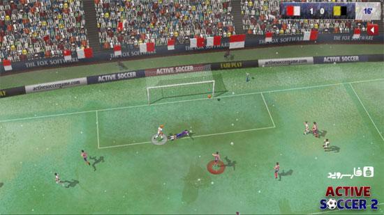 بازی فوتبال جدید اندروید - Active Soccer 2 Android