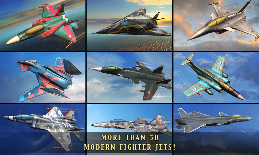 دانلود Air Combat OL: Team Match 5.4.1 – بازی مبارزات هوایی اندروید + دیتا