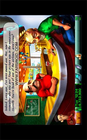 Airline Tycoon Deluxe Android - بازی رایگان اندروید