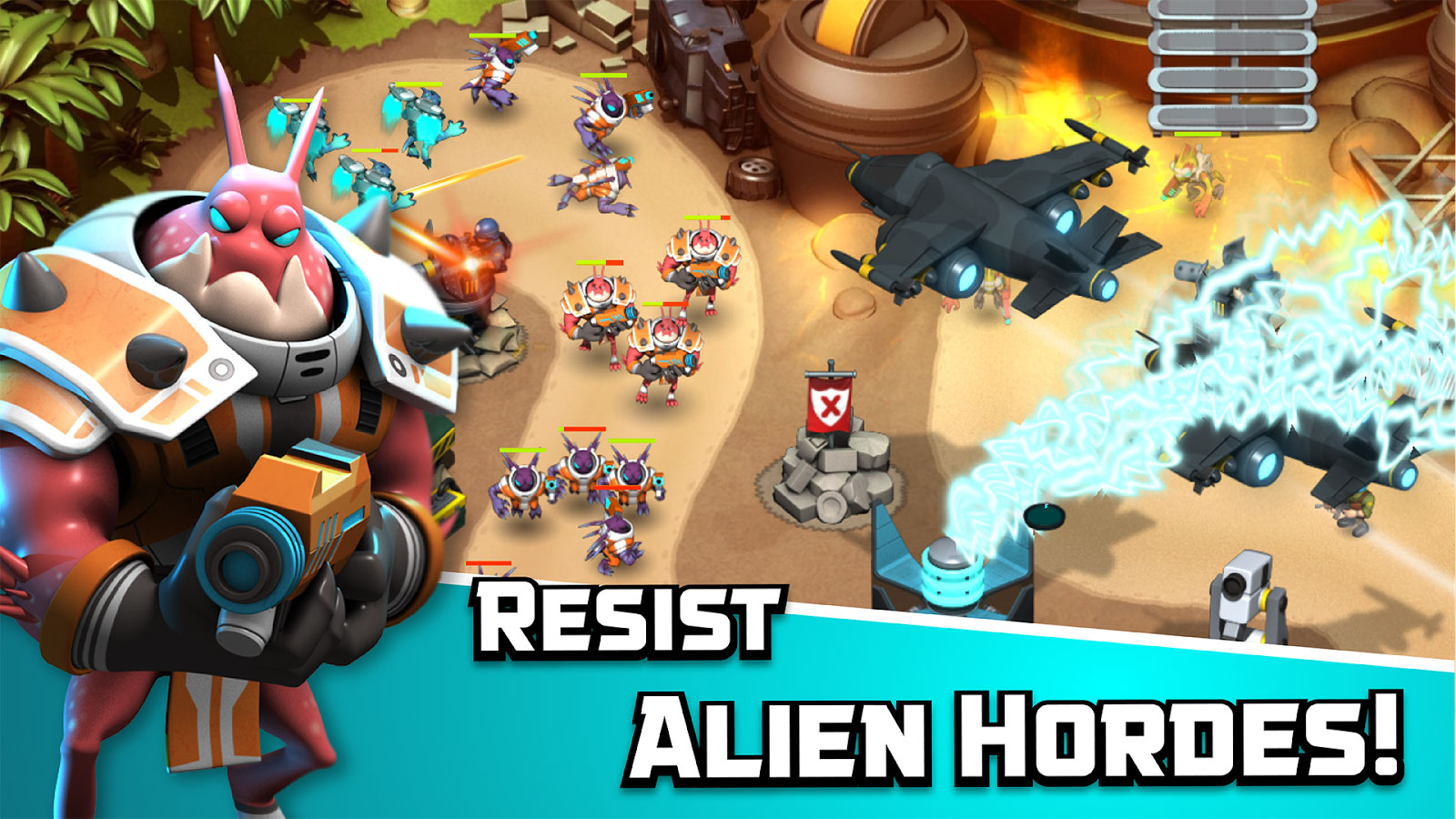 Alien Creeps TD Android