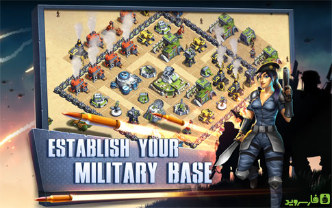 Allies in War Android - بازی جدید اندروید