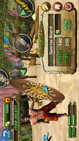 Ancient Surfer Android بازی اندروئید