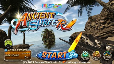دانلود Ancient Surfer - بازی موج سواری اندروید + مود شده