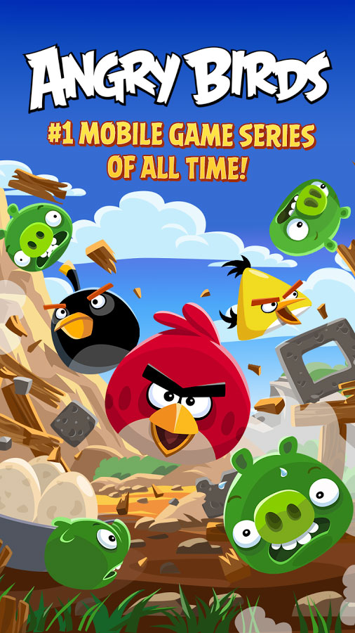 Angry Birds Android Original + Mod PoweUps/All Unlocked/Ad-Free - Google Play