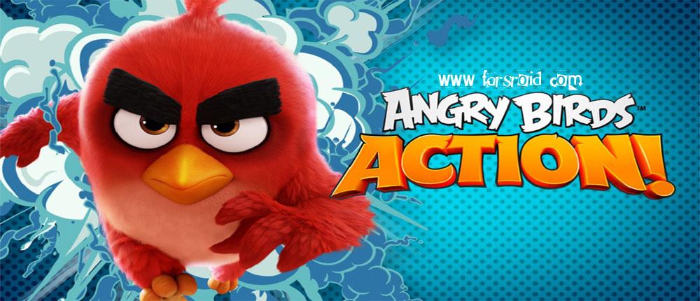 دانلود Angry Birds Action - بازی پرندگان خشمگین: حرکت اندروید + مود + دیتا