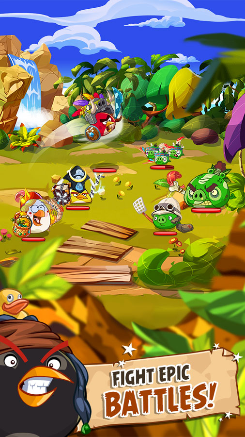 Angry Birds Epic 2 دانلود Angry Birds Epic 2.5.26974.4598 – بازی حماسه پرندگان خشمگین آندروید + مود + دیتا