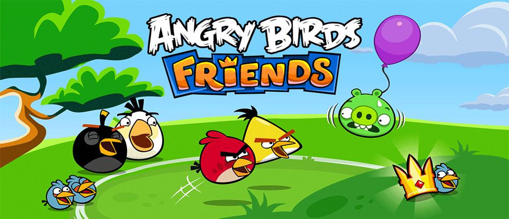 دانلود بازی Angry Birds Friends - انگری بیرد دوستان برای اندروید
