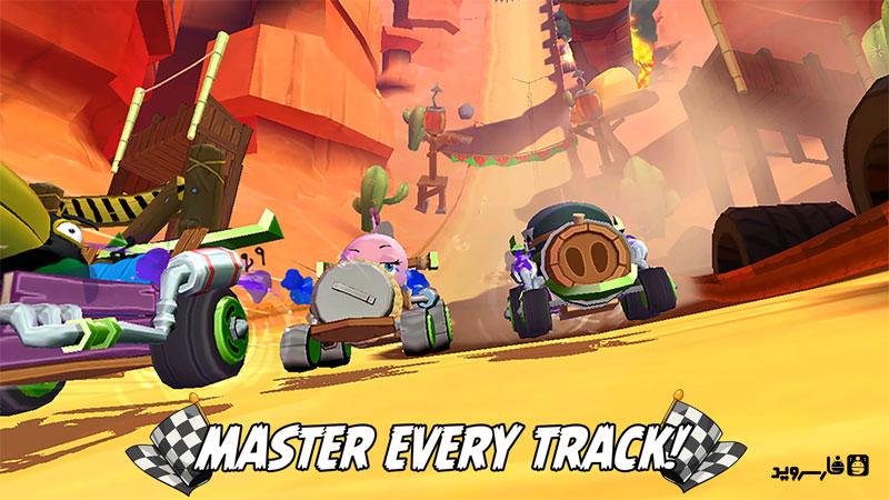 Angry Birds Go! Android بازی اندروید