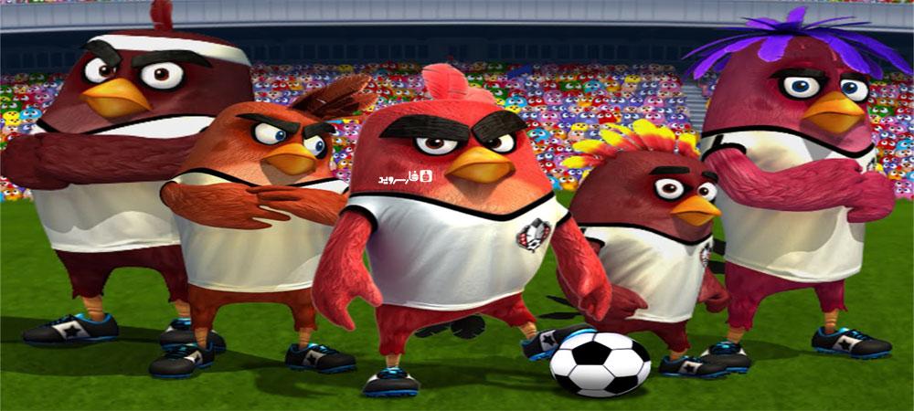 دانلود Angry Birds Goal! - بازی فوتبال پرندگان خشمگین اندروید + مود