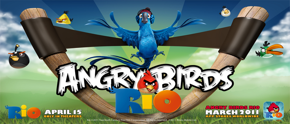 دانلود Angry Birds Rio - بازی پرندگان خشمگین اندروید