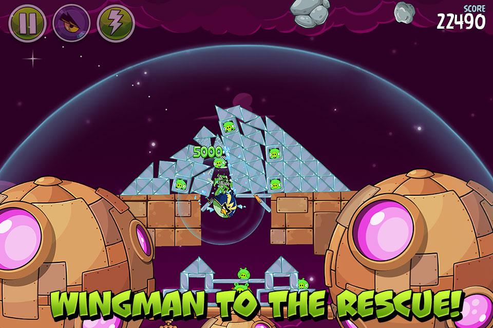 دانلود Angry Birds Space HD 2.2.14 – بازی پرندگان عصبانی فضایی اندروید + مود