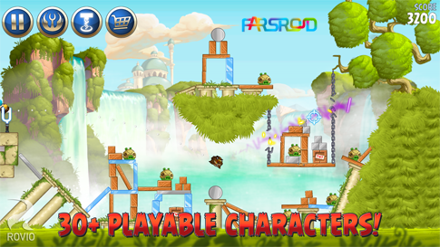 Angry Birds Star Wars II Free - پرندگان عصبانی جنگ ستارگان