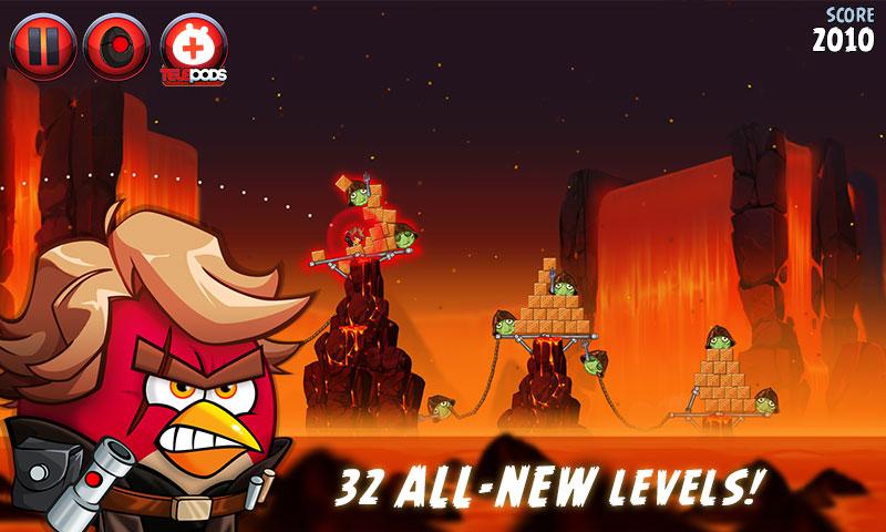 دانلود Angry Birds Star Wars II Free 1.9.25 – پرندگان عصبانی جنگ ستارگان اندروید + مود