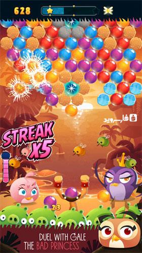 دانلود Angry Birds Stella POP 3.78.0 – بازی پرندگان خشمگین اندروید + مود
