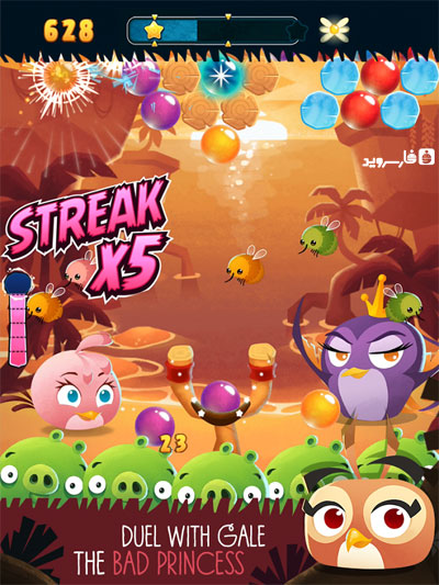 دانلود Angry Birds Stella POP 3.81.1 – بازی پرندگان خشمگین اندروید + مود