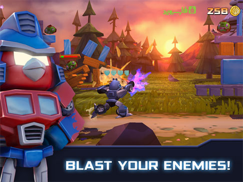 Angry Birds Transformers Android - بازی جدید اندروید