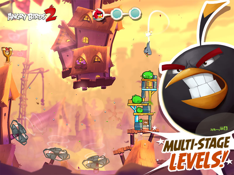 Download Angry Birds 2 Android Apk + Mod + Obb SD - Google Play