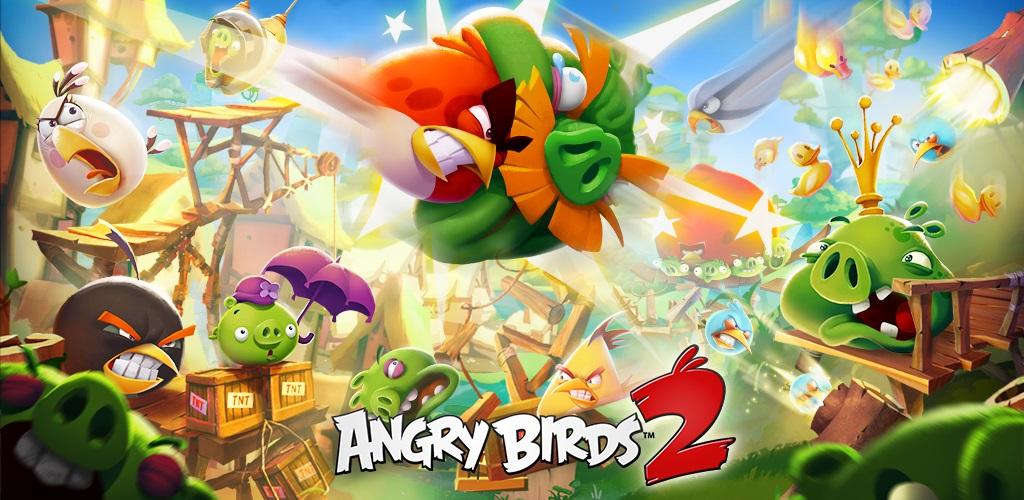 دانلود Angry Birds 2 - نسل دوم بازی پرندگان خشمگین اندروید + مود
