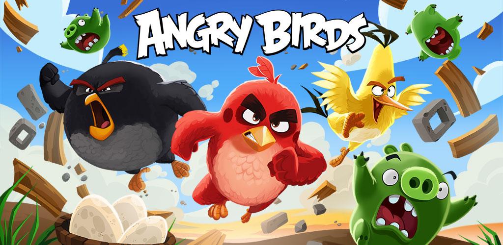 دانلود Angry Birds - اولین نسخه بازی پرندگان خشمگین اندروید + مود