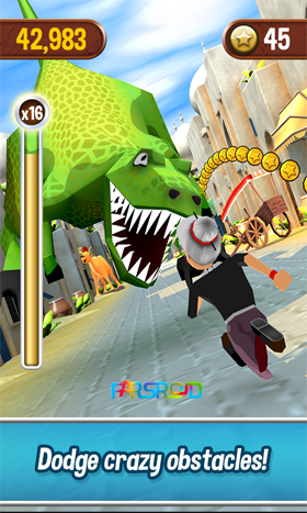 Angry Gran Run Android اندروید بازی