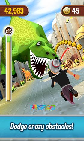 دانلود Angry Gran Run 2.17.1 – بازی مادربزرگ عصبانی دونده اندروید + مود