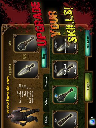 Angry Warrior Eternity Slasher Android - بازی جدید اندروید