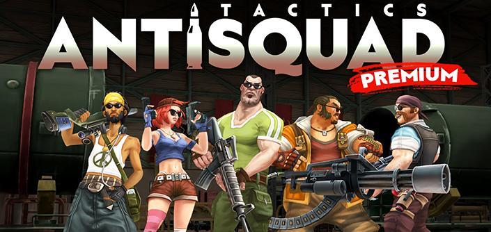 دانلود AntiSquad Tactics Premium - بازی اکشن جدید اندروید + دیتا + مود