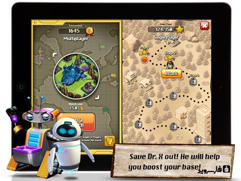 دانلود Apoc Wars: Zombies Clash 1.1 – بازی برخورد زامبی ها اندروید!