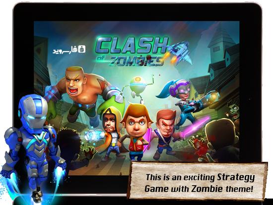 دانلود Apoc Wars: Zombies Clash - بازی برخورد زامبی ها اندروید!