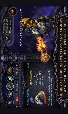 Apocalypse Knights Android - بازی اندروید