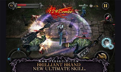 Download Apocalypse Knights Android Game Aok + Obb - New FREE