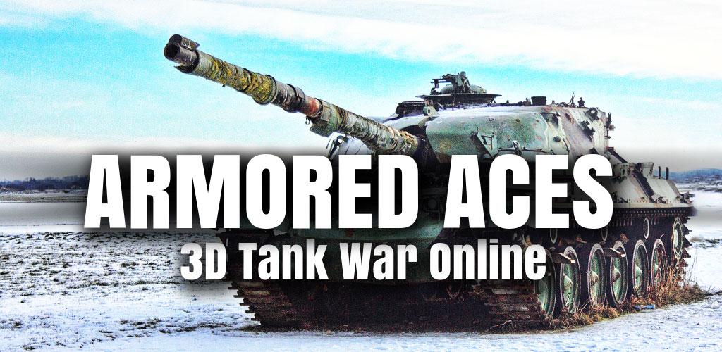 دانلود Armored Aces - 3D Tank Battles - بازی جنگ تانک ها اندروید!