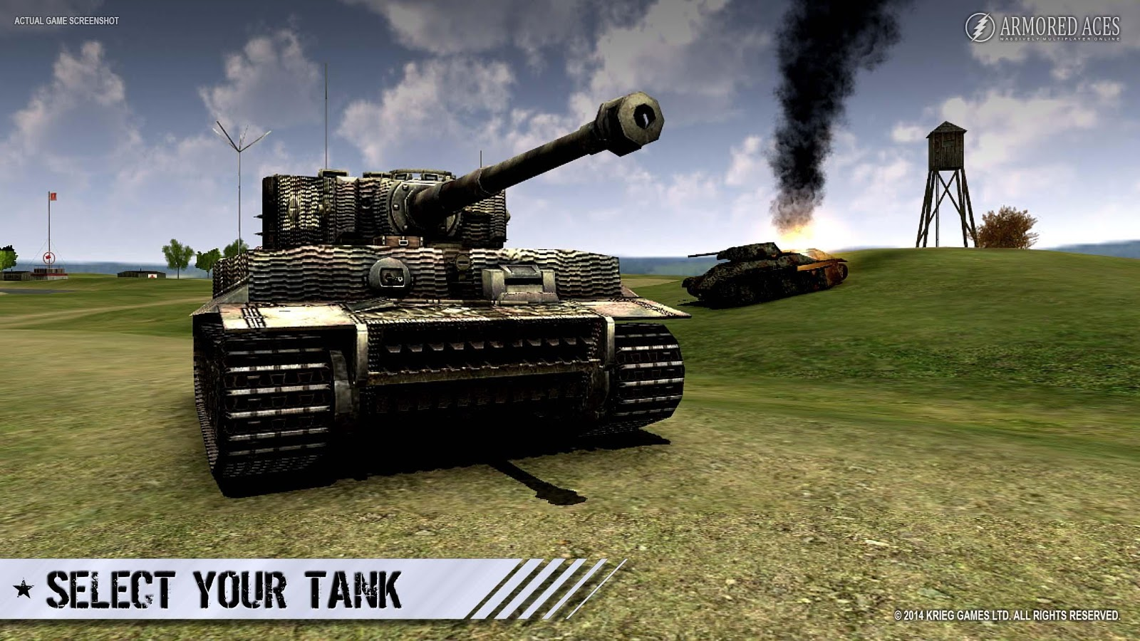 Armored Aces - 3D Tank Battles Android