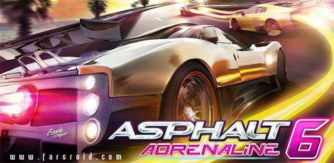 دانلود Asphalt 6: Adrenaline - بازی ماشین سواری آسفالت 6 اندروید
