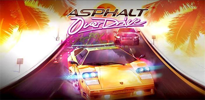 دانلود Asphalt: OverDrive - بازی آسفالت: اوردرایو اندروید + دیتا