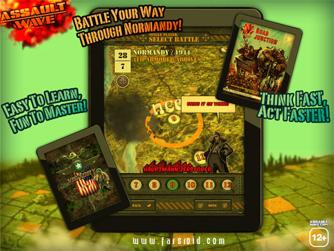 Assault Wave Android - بازی نبرد ملت ها اندروید