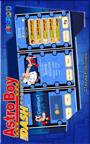 Astro Boy Dash Android بازی اندروید