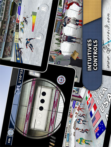 Athletics: Winter Sports Android - بازی اندروید