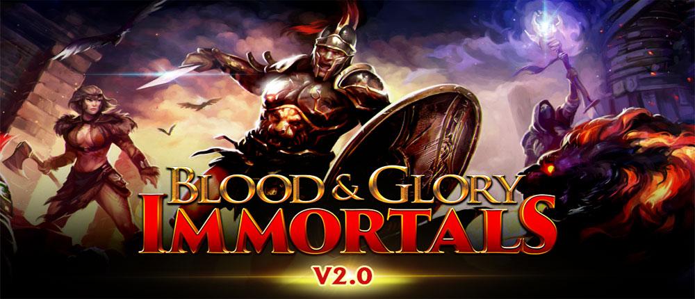 بازی اندروید گلادیاتور خون و افتخار,BLOOD & GLORY-IMMORTALS