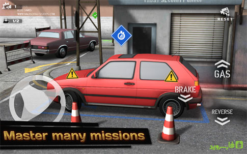 Backyard Parking 3D Android - بازی اندروید