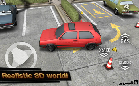 Backyard Parking 3D Android - بازی ماشین پارکینگ اندروید