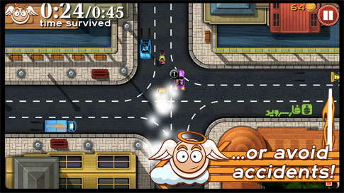 Bad Traffic Android - بازی جدید اندروید