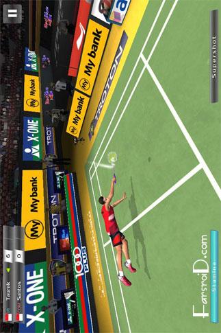 Badminton: Jump Smash 1.1.75 – بازی ورزشی بدمینتون اندروید + دیتا !