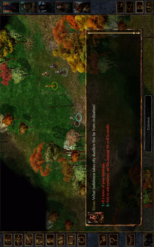 Baldur's Gate Enhanced Edition - بازی اندروید